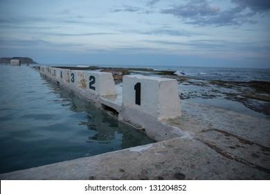 ocean baths, merewether, newcastle, australia