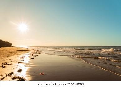 Ocean beach (Green Gables Shore, Prince Edward Island , Canada)