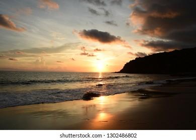 Ocean Beach Scene