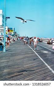 Ocean City Maryland, USA, The Boardwalk, August 5, 1991