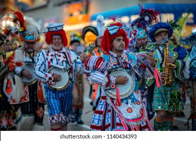 Ocean City, NJ - June 10, 2018: Avalon String Band performs on the Ocean City NJ boardwalk