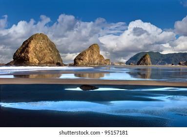 Ocean and coastal landscapes