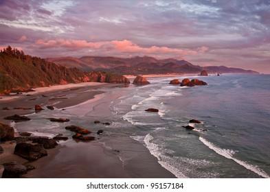 Ocean and coastal landscapes Cannon Beach