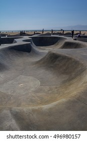 Ocean Front Walk at Venice Beach, Skatepark , California
