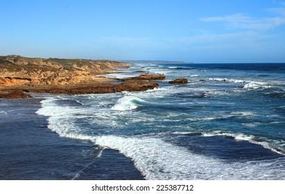 Ocean landscape, Blairgowrie. Australia