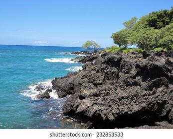 Ocean Lava Rocks