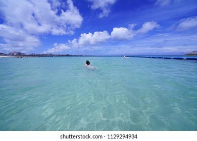 Ocean in Okinawa