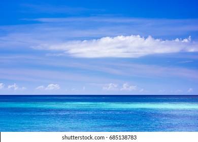 Ocean. Okinawa, Japan, Asia.