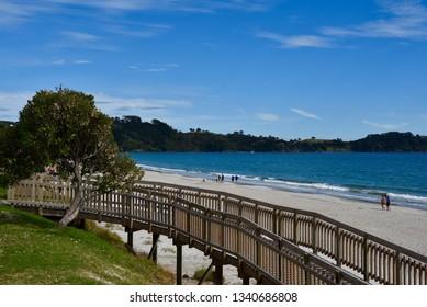 Ocean Pathway at Waiheke Island, New Zealand
