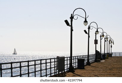Ocean and Pier Setting