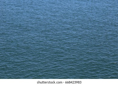 Ocean with ripples