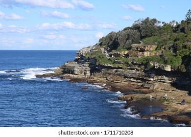 the ocean, rock, landscape view