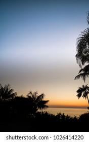 Ocean Scenic Sunset