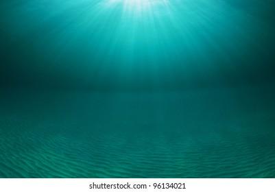 ocean seascape in the Bahamas