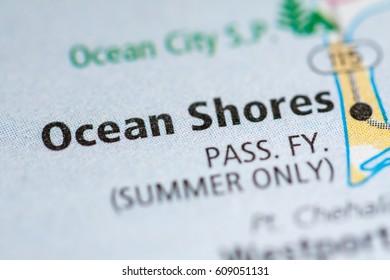 Ocean Shores. Washington. USA