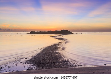 Ocean at the Sunrise shooting from Kuibishan;Penghu;Taiwan