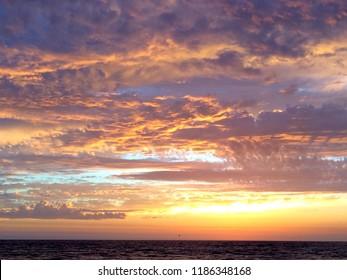 Ocean Sunset View