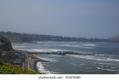 Ocean view in LIma