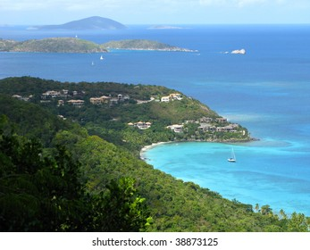 Ocean view of St. John