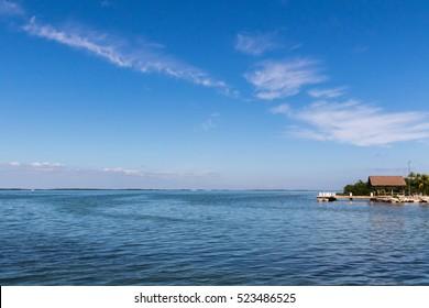 Ocean View from Tavernier, Key Largo, Florida
