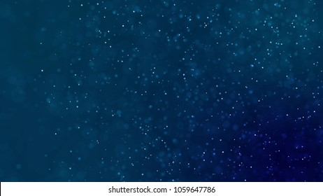 ocean water with dust and particle moving background