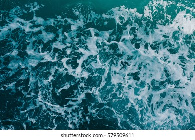 Ocean wave High Angle View