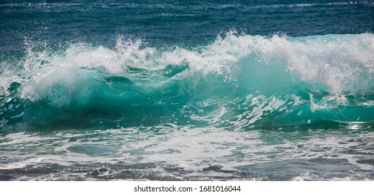Ocean Wave in stormy weather