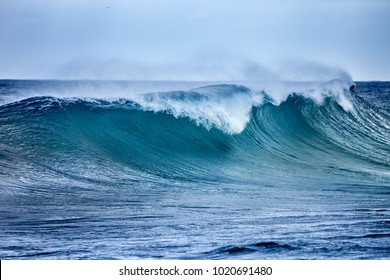Ocean Wave in windy weather