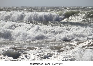 Ocean waves after a storm