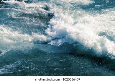 ocean waves, storm, reefs, beautiful background, close-up