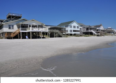 Oceanfront beach rental homes.