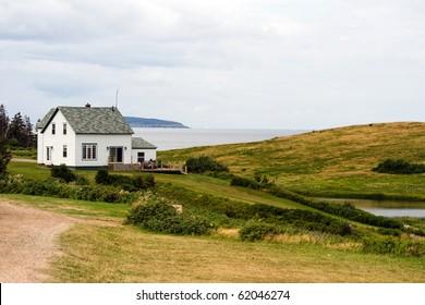 Oceanfront house in Cape Breton, Nova Scotia, Canada