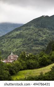 Ochagavia village in navarra