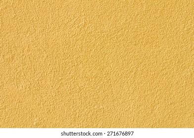 ocher wall