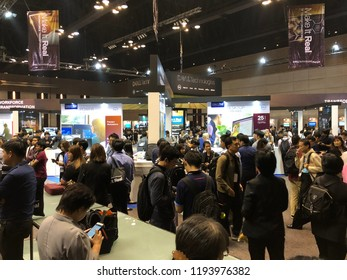 Oct 2, 2018 Bangkok: Participants are visiting booths at Dell Technologies Forum 2018, a free one-day event that show power of Dell's seven technology powerhouses, all in one place.