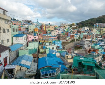 Oct 22, 2016 Gamcheon Culture Village, Busan, South Korea