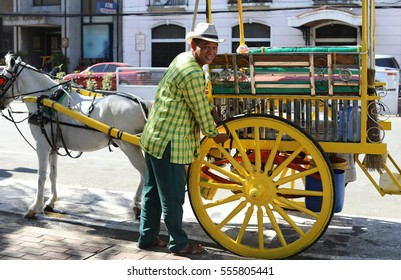 Oct 29, 2016 Horse with carriage in Intramuros, Manila, Philippines