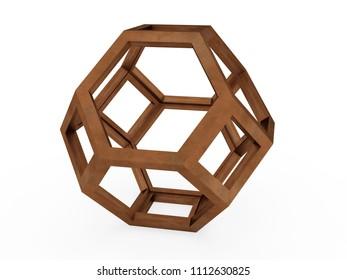 Octaedron 3D model