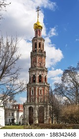 Octagonal bell tower (1690). Novodevichy Convent is probably the best-known cloister of Moscow.