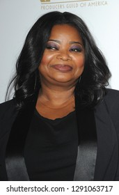 Octavia Spencer at the 30th Annual Producers Guild Awards held at the Beverly Hilton Hotel in Beverly Hills, USA on January 19, 2019.