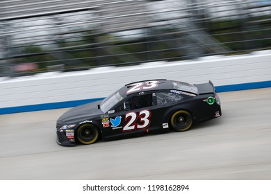 October 05, 2018 - Dover, Delaware, USA: JJ Yeley (23)  takes to the track to practice for the Gander Outdoors 400 at Dover International Speedway in Dover, Delaware.