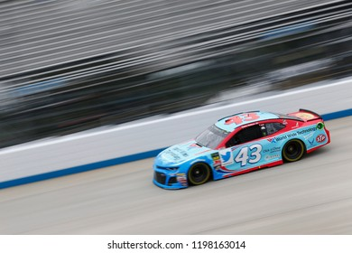October 05, 2018 - Dover, Delaware, USA: Darrell Wallace, Jr (43)  takes to the track to practice for the Gander Outdoors 400 at Dover International Speedway in Dover, Delaware.
