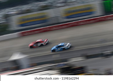October 07, 2018 - Dover, Delaware, USA: Matt Kenseth (6) battles for position during the Gander Outdoors 400 at Dover International Speedway in Dover, Delaware.