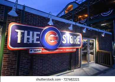 October 10, 2016 - The Cubs Store in Wrigley Field, Chicago, Illinois