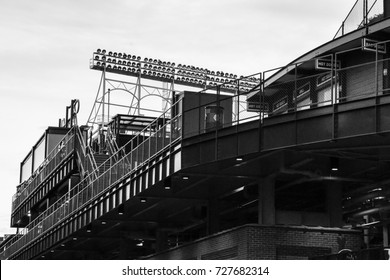October 10, 2016 - External views of Wrigley Field, Wrigleyville, Chicago, Illinois