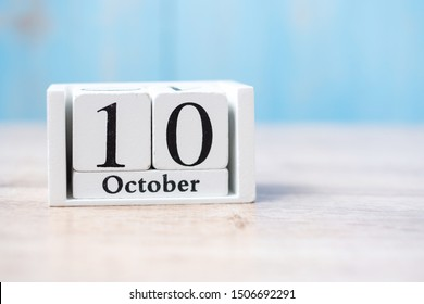 October 10 of white calendar. World Mental Health Day, Independence day of Taiwan and Taiwan National day