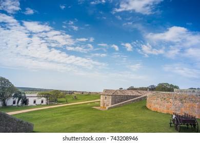 OCTOBER 11, 2017: Santa Teresa Fort, at Rocha - Uruguay.
