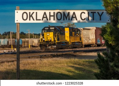 OCTOBER 11, 2018 - Oklahoma City, USA - Oklahoma City Skyline, Oklahoma City, Oklahoma