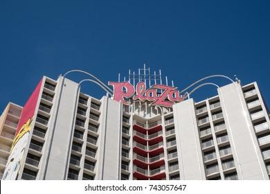 Plaza Hotel Las Vegas Images Stock Photos Vectors Shutterstock