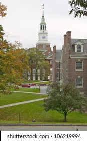 OCTOBER 2005 - Baker Tower on the campus of Dartmouth College in Hanover, New Hampshire